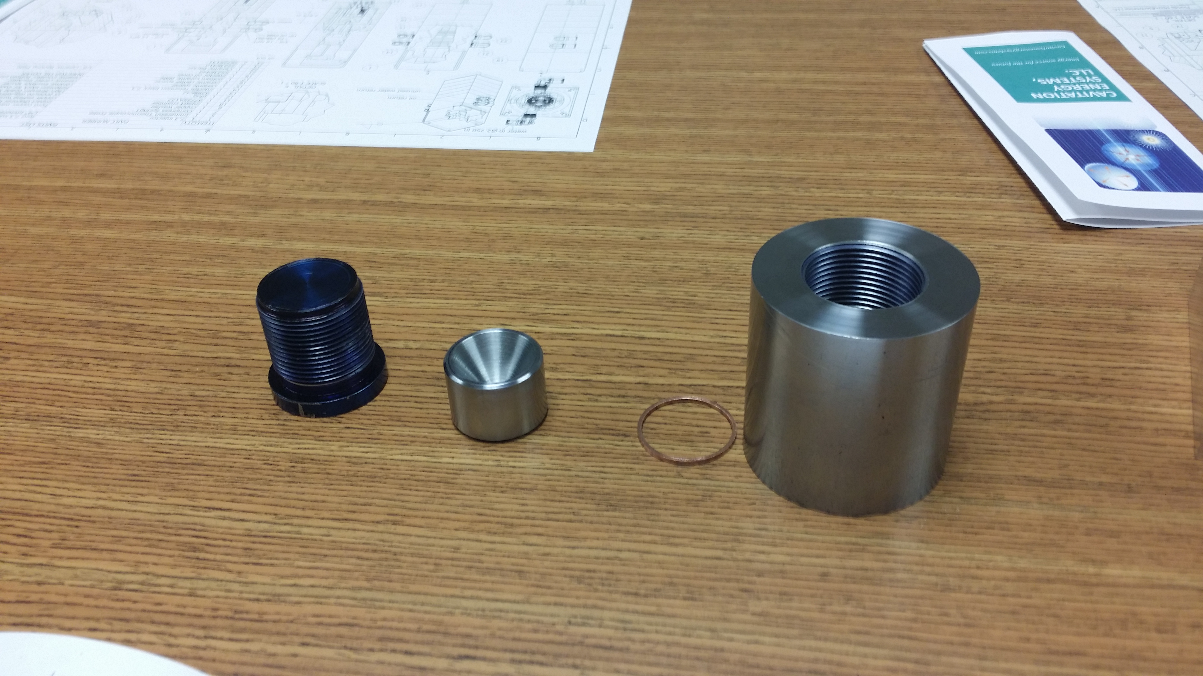 Impact chamber Components