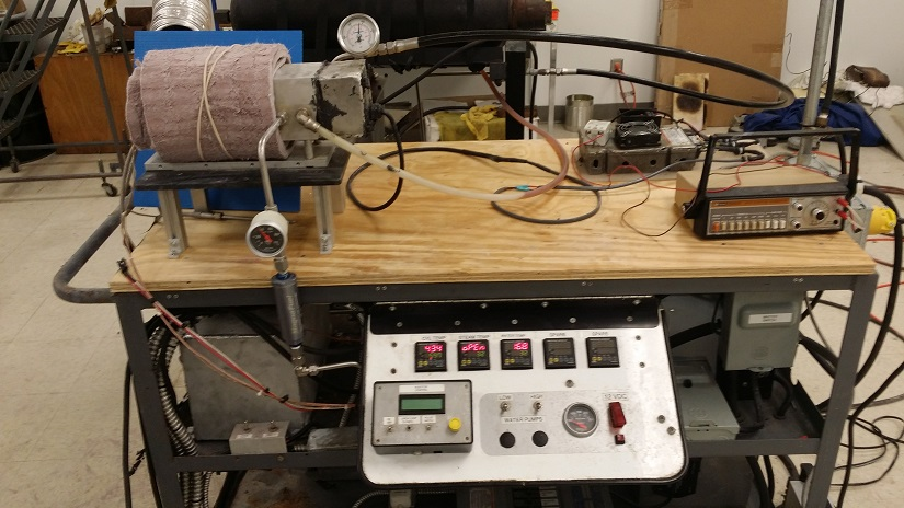 Control panel and CES assembly
